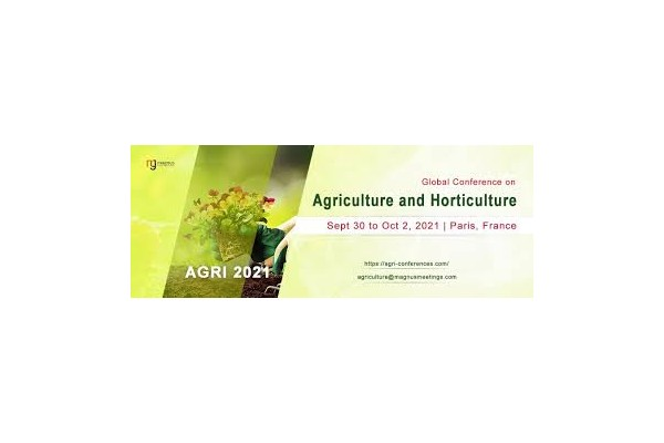 """""""Global Conference on Agriculture and  Horticulture"""" AGRI 2021"""