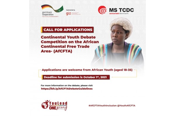 Continental Youth Debate Competition on the African Continental Free Trade Area - (AFCTA)