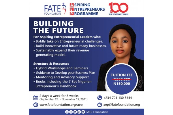 FATE Foundation's Aspiring Entrepreneurs Programme (AEP)