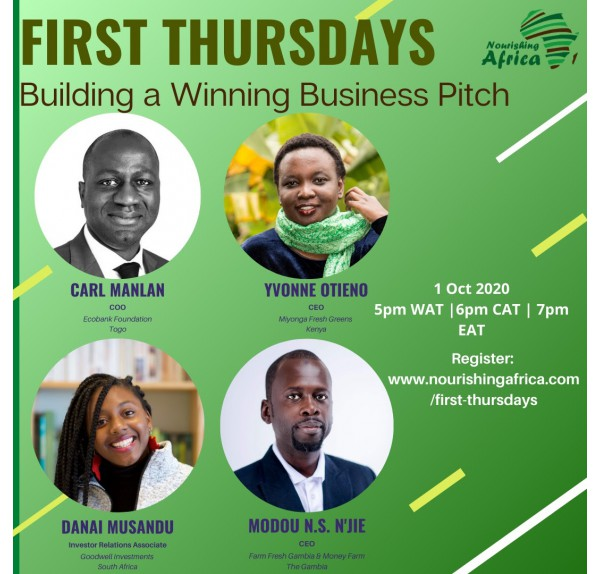 October Edition (2020) - Building a Winning Business Pitch